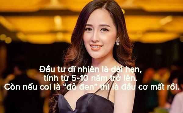 Hoa hậu Mai Phương Thúy và những câu nói 'cực chất' về đầu tư chứng khoán - Ảnh 8.
