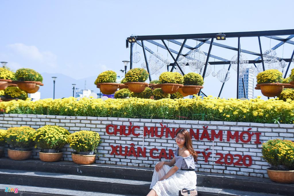 Ngắm đường hoa hơn 6 tỉ ở Đà Nẵng - Ảnh 6.
