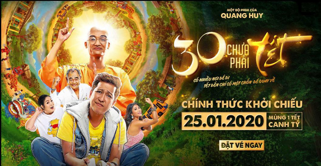 Lịch chiếu phim '30 Chưa Phải Tết' ngày mai tại các rạp Hà Nội - Ảnh 1.