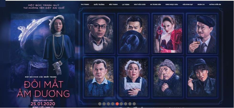 Lịch chiếu phim 'Đôi Mắt Âm Dương' ngày mai tại các rạp Hà Nội - Ảnh 1.