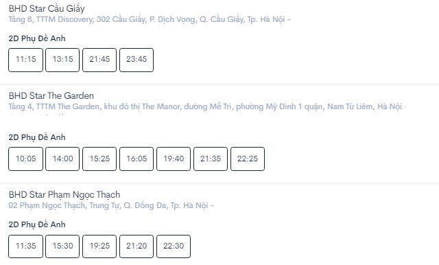 Lịch chiếu phim 'Đôi Mắt Âm Dương' ngày mai tại các rạp Hà Nội - Ảnh 5.