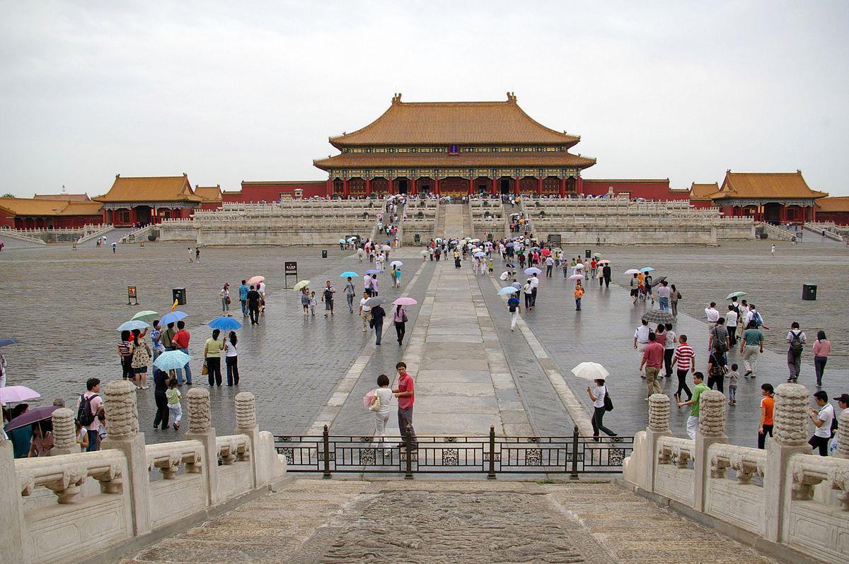 Tử Cấm Thành Trung Quốc tạm dừng đón khách du lịch vì virus corona - Ảnh 1.