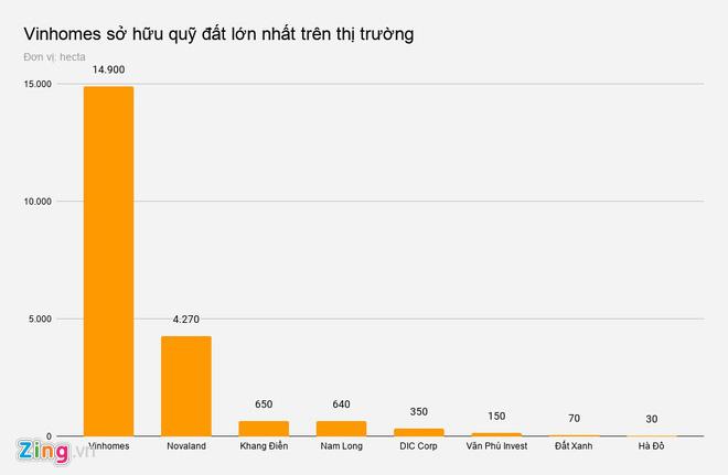 Quỹ đất trong tay các 'ông lớn' địa ốc Việt - Ảnh 1.