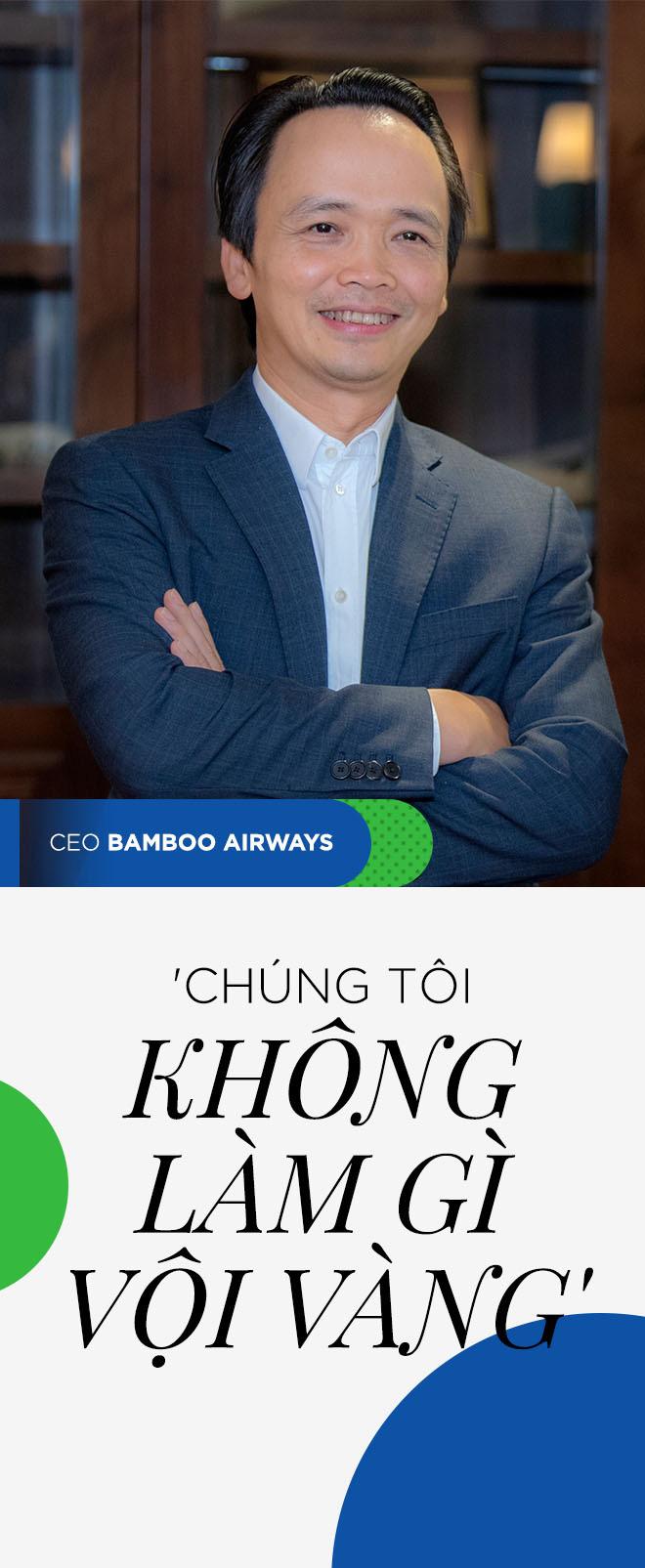 Chủ tịch Bamboo Airways Trịnh Văn Quyết: Chúng tôi không làm gì vội vàng - Ảnh 1.