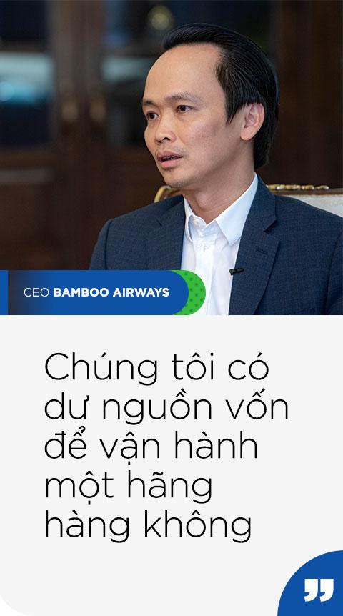 Chủ tịch Bamboo Airways Trịnh Văn Quyết: Chúng tôi không làm gì vội vàng - Ảnh 5.