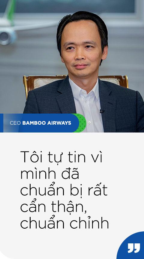 Chủ tịch Bamboo Airways Trịnh Văn Quyết: Chúng tôi không làm gì vội vàng - Ảnh 7.