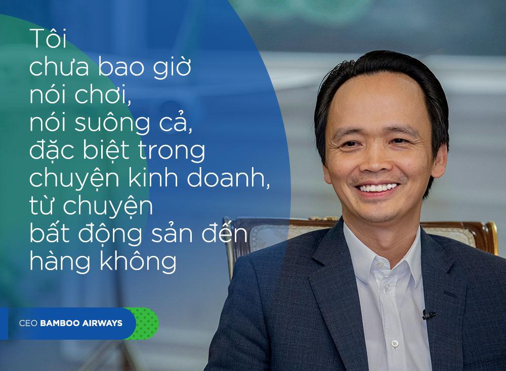 CEO Bamboo Airways Trinh Van Quyet: 'Chung toi khong lam gi voi vang' hinh anh 4 QUOTE4_DESKTOP.jpg