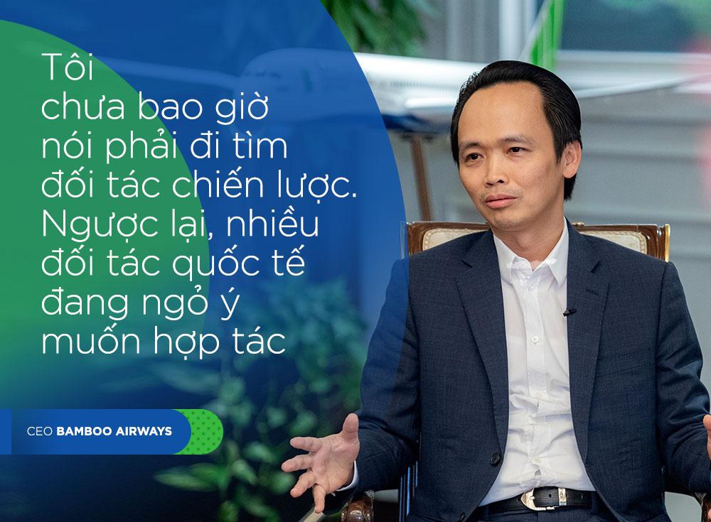 CEO Bamboo Airways Trinh Van Quyet: 'Chung toi khong lam gi voi vang' hinh anh 5 QUOTE5_DESKTOP.jpg