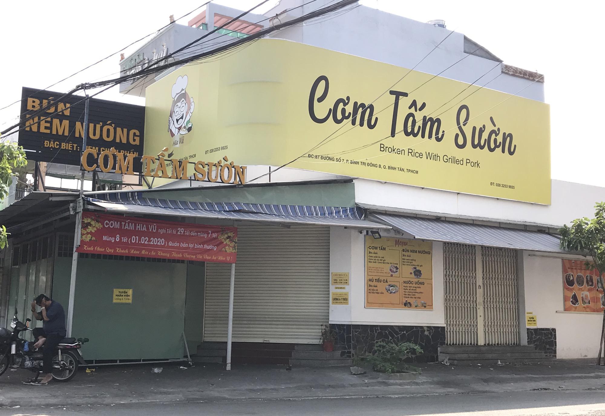 Hàng quán Sài Gòn còn ăn Tết, đóng cửa im ỉm, chưa khai trương dù đã bước qua mùng 7 - Ảnh 3.
