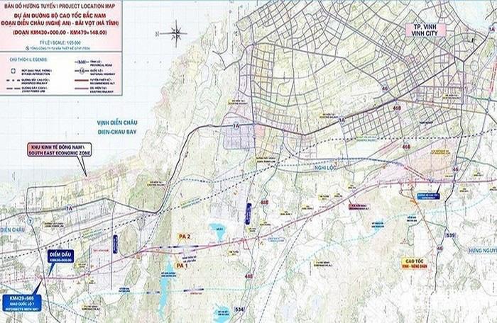 Dự án cao tốc Bắc - Nam: Nghệ An, Hà Tĩnh sẽ được bố trí nguồn vốn trong tháng 1/2020 - Ảnh 1.