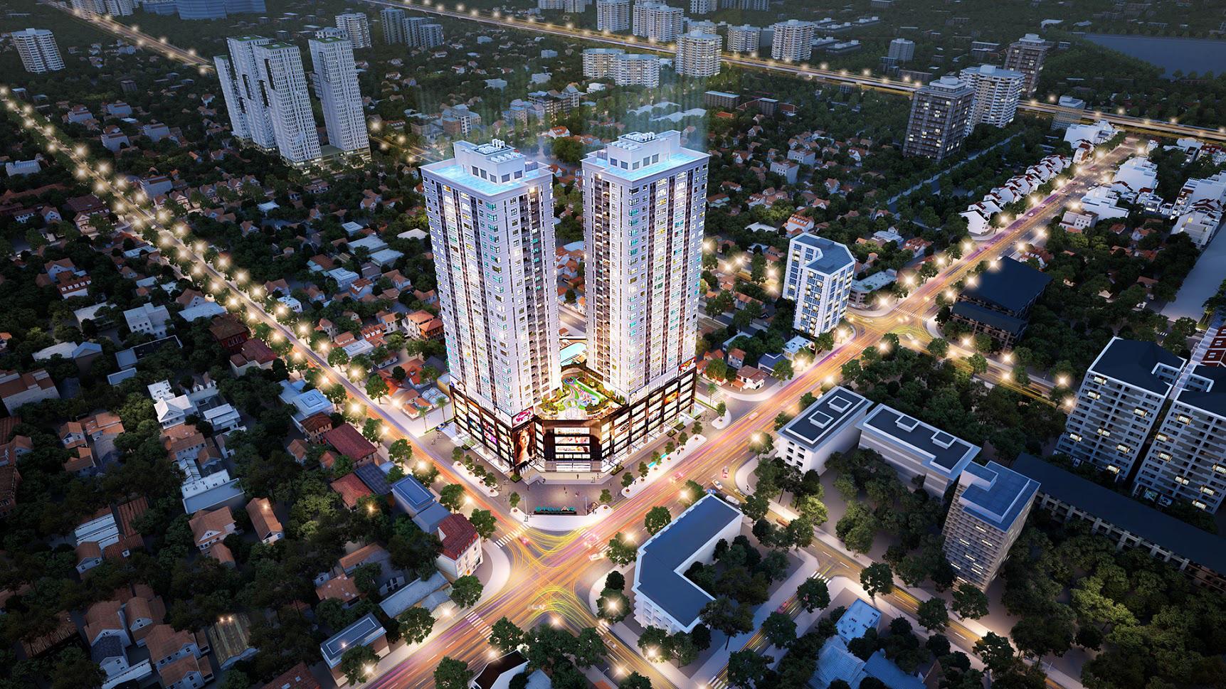 Dự án đang mở bán ở Hà Nội: Stellar Garden gần Lê Văn Lương, giá từ 33 triệu đồng/m2  - Ảnh 1.
