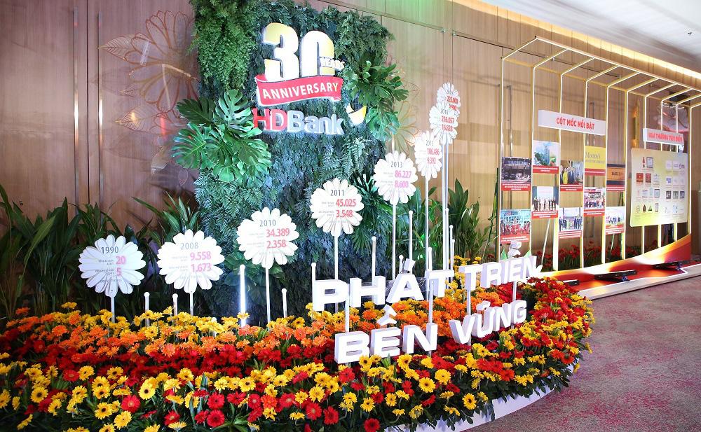HDBank kỉ niệm 30 năm hoạt động: Ngày hội lớn hơn của 16.000 CBNV - Ảnh 1.