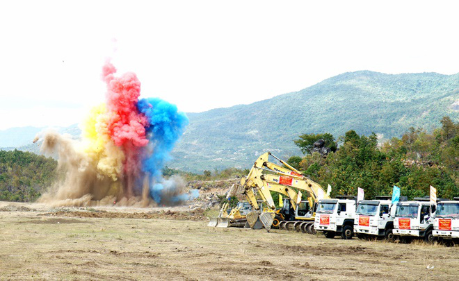 Thi công dự án thủy điện tích năng đầu tiên tại Việt Nam - Ảnh 1.