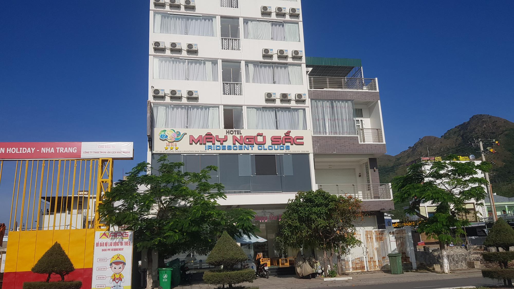 Khánh Hòa: Phối hợp xử lí các khách sạn tự ý thay đổi qui mô công trình - Ảnh 1.