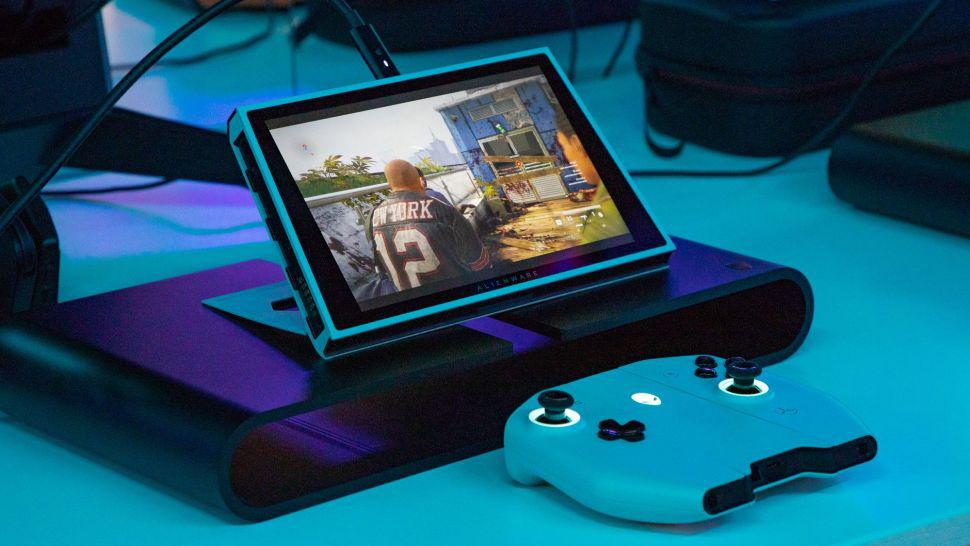 """Alienware ra mắt Concept UFO thiết bị chơi game Windows 10 dạng """" Switch"""" - Ảnh 5."""