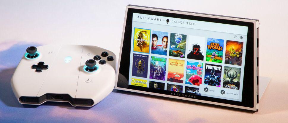 """Alienware ra mắt Concept UFO thiết bị chơi game Windows 10 dạng """" Switch"""" - Ảnh 6."""