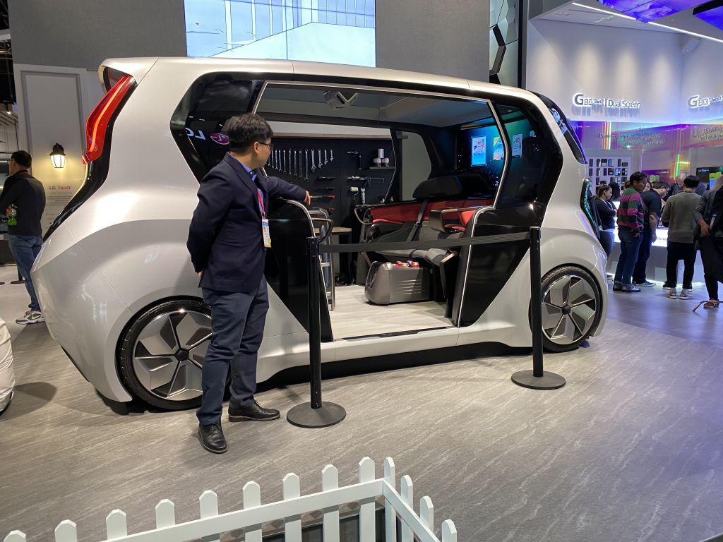 LG giới thiệu xe tự lái độc đáo ra mắt vào năm 2030 - Ảnh 1.