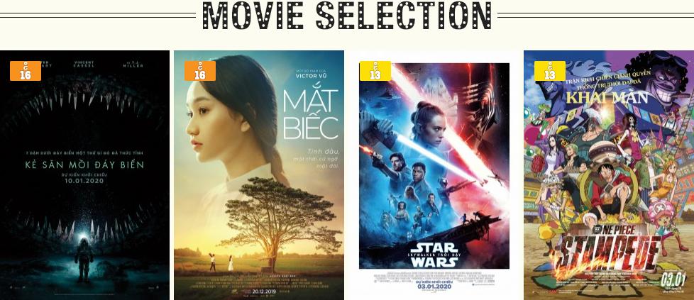 Lịch chiếu phim ngày mai (14/1) tại một số rạp CGV Hà Nội - Ảnh 1.