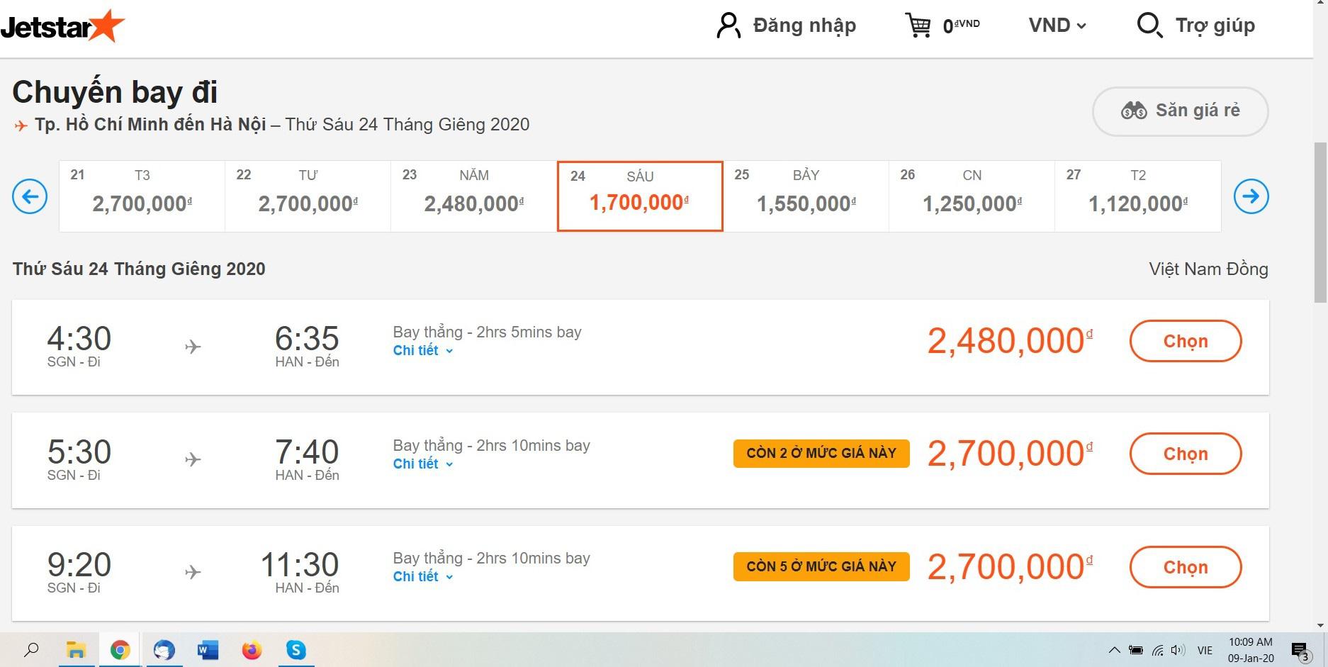 Vé máy bay Tết online vẫn còn nhiều khi hãng bay tăng cường chuyến đêm - Ảnh 3.