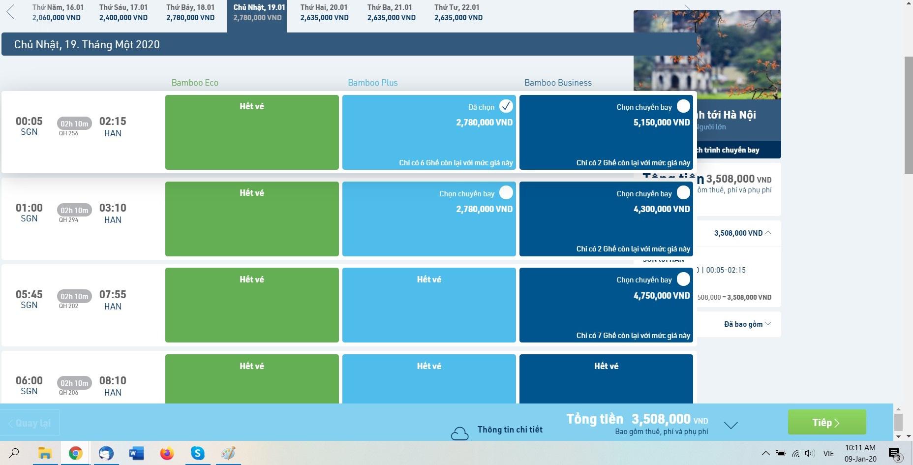 Vé máy bay Tết online vẫn còn nhiều khi hãng bay tăng cường chuyến đêm - Ảnh 5.