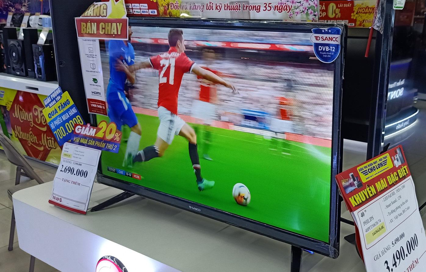 Tivi giảm giá tháng 2: Dòng màn hình to hút hàng trước mùa giải bóng đá - Ảnh 3.