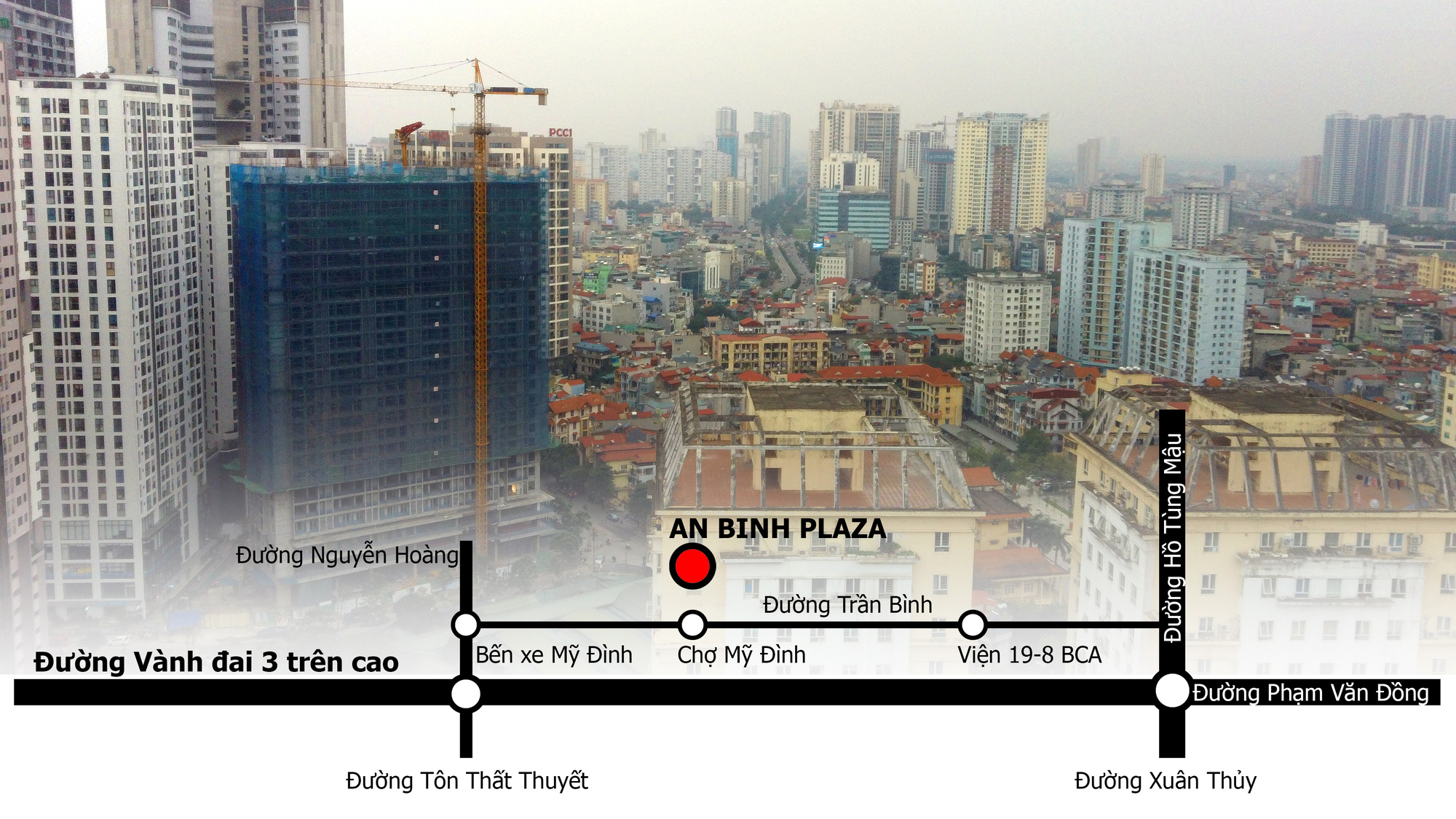 Dự án An Bình Plaza đang mở bán ở Hà Nội: 'Nhất cận thị', lô gia chạy dài qua các phòng - Ảnh 4.