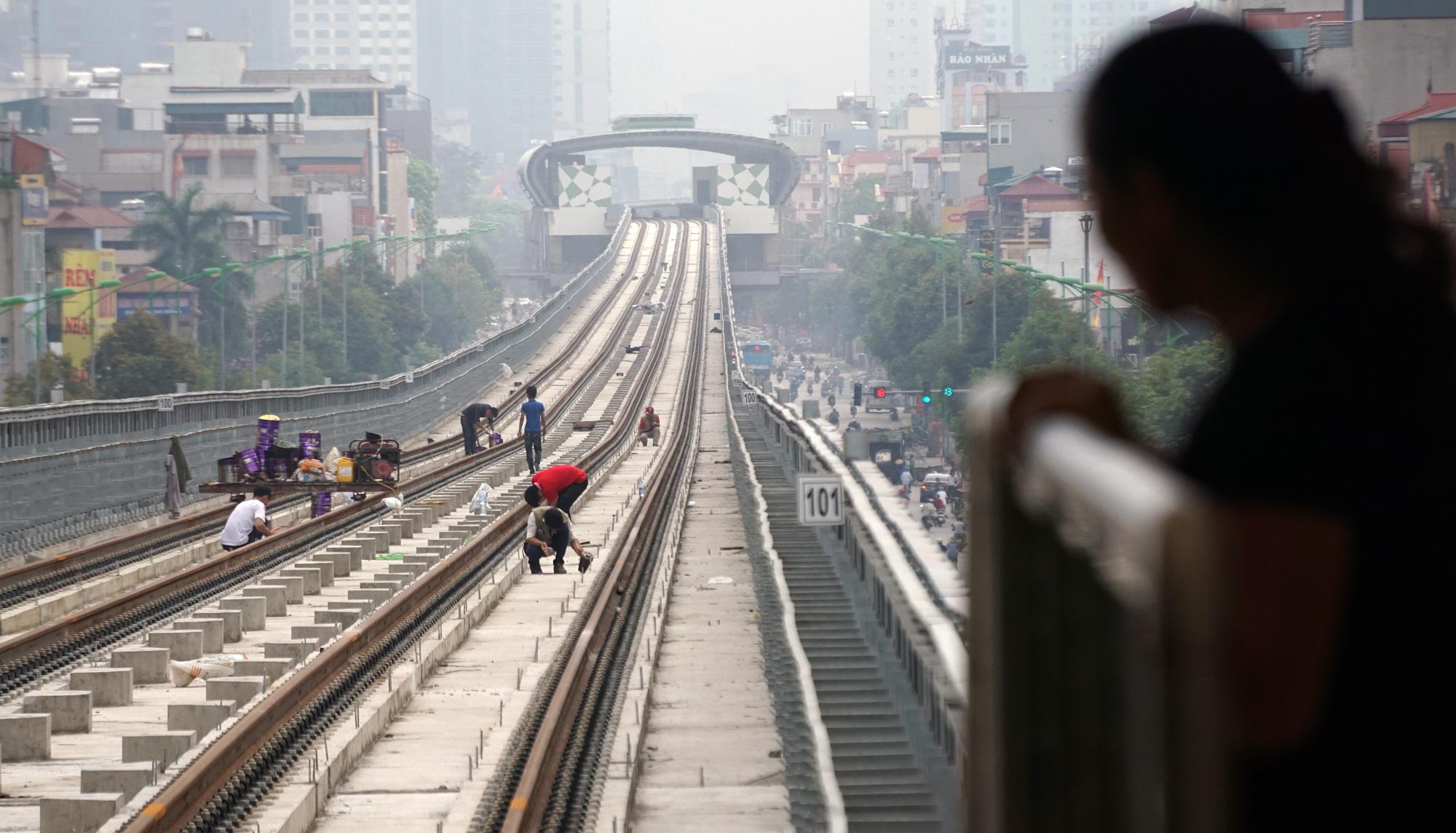 Dễ 'vỡ kế hoạch' chạy thử đường sắt Cát Linh - Hà Đông trong tháng 2 vì dịch virus corona - Ảnh 2.