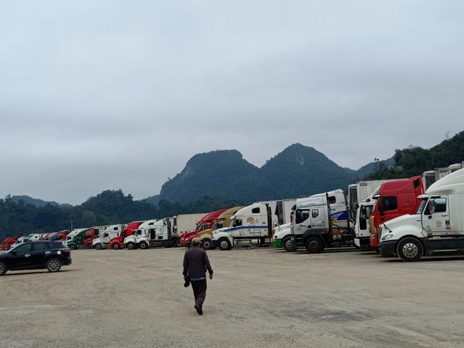 500 xe trái cây vẫn đang nằm chờ ở cửa khẩu Lạng Sơn - Ảnh 2.