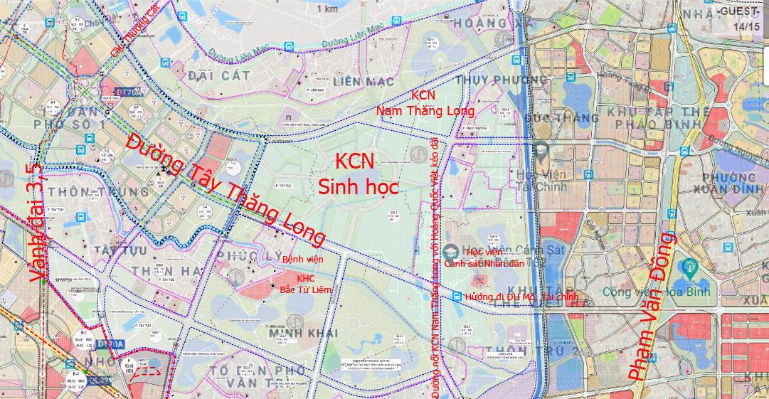 Những dự án 'đón' qui hoạch đường hướng tâm Tây Thăng Long từ Vành đai 4 đến hồ Tây - Ảnh 7.