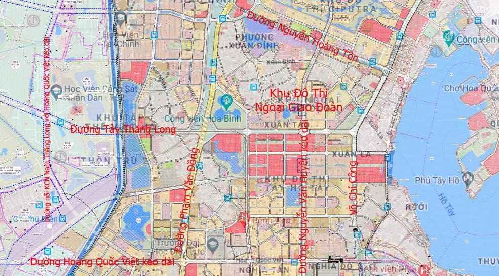 Những dự án 'đón' qui hoạch đường hướng tâm Tây Thăng Long từ Vành đai 4 đến hồ Tây - Ảnh 12.