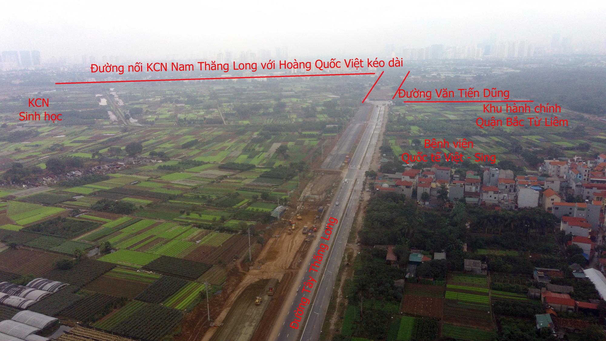 Những dự án 'đón' qui hoạch đường hướng tâm Tây Thăng Long từ Vành đai 4 đến hồ Tây - Ảnh 10.