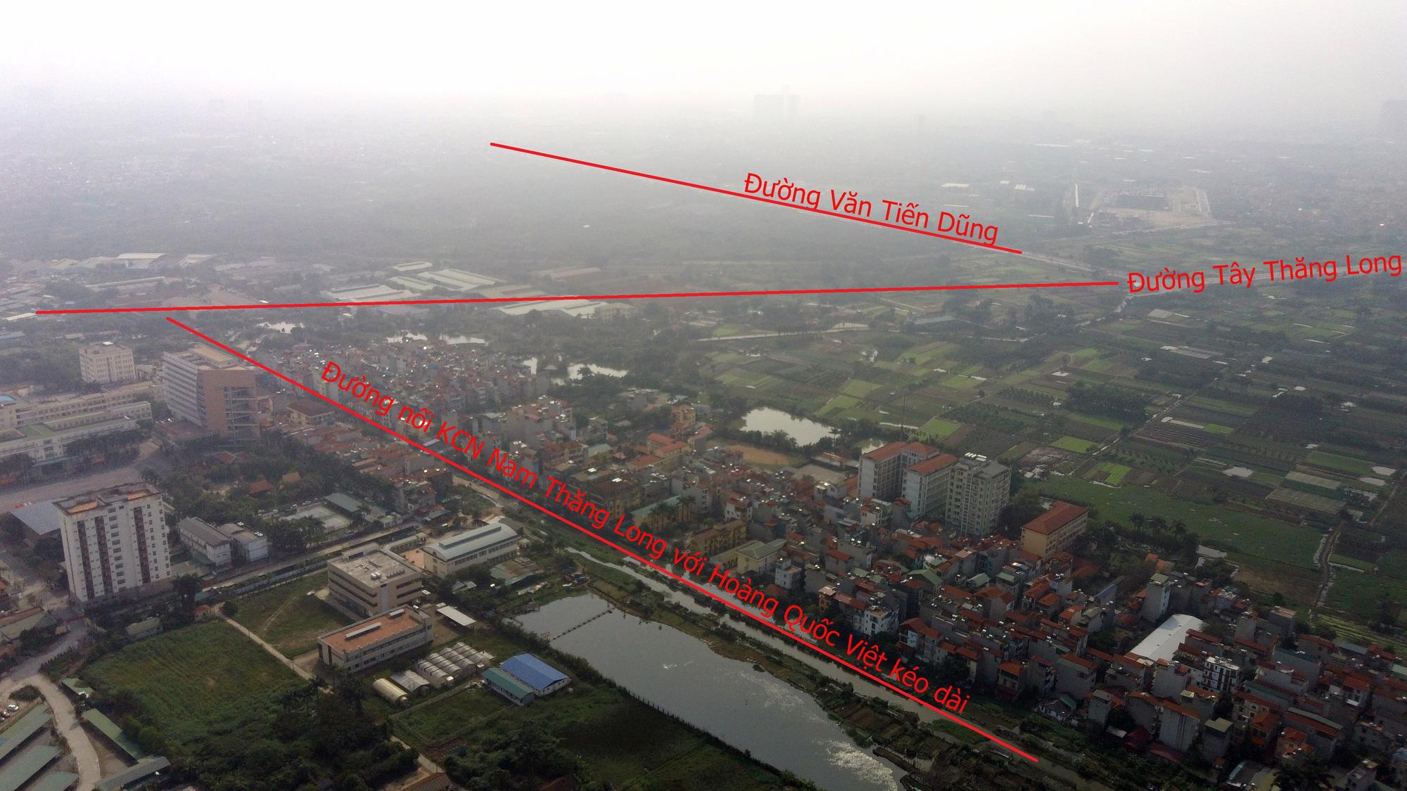 Những dự án 'đón' qui hoạch đường hướng tâm Tây Thăng Long từ Vành đai 4 đến hồ Tây - Ảnh 11.