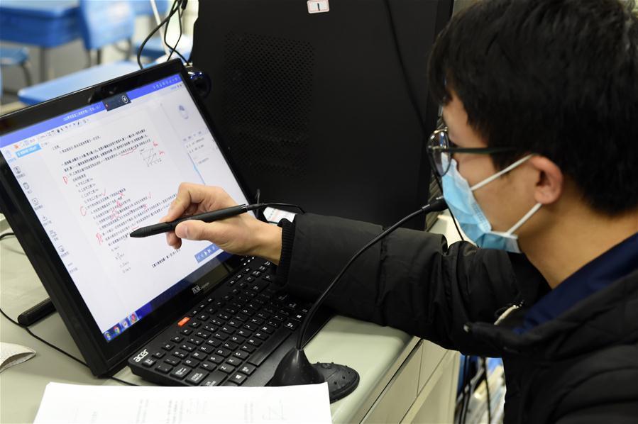 Hàng triệu khoá học online đã được mở ra trên khắp Trung Quốc để phục vụ học sinh, sinh viên nghỉ học vì dịch bệnh nCoV - Ảnh 2.