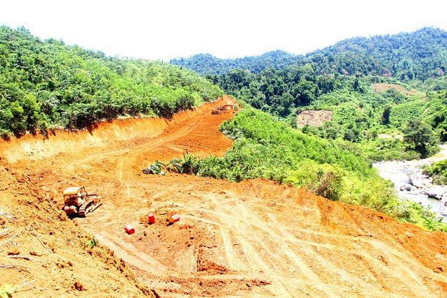 Thủy điện Nước Chè và Trà Linh 2 ở Quảng Nam bị vướng giải phóng mặt bằng - Ảnh 1.
