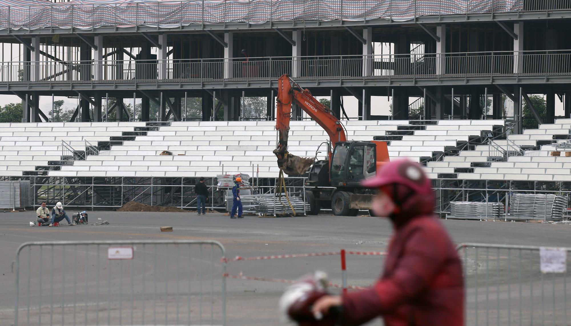 Nhìn gần đường đua F1 Hà Nội sắp khởi tranh - Ảnh 11.