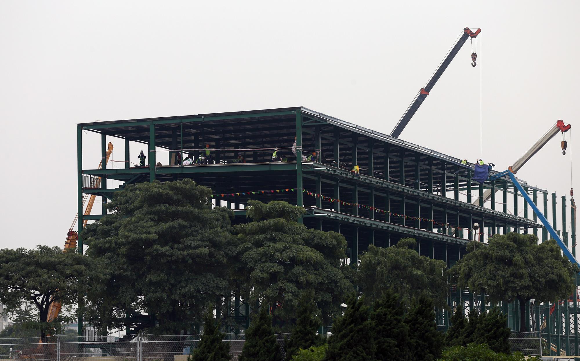 Nhìn gần đường đua F1 Hà Nội sắp khởi tranh - Ảnh 12.