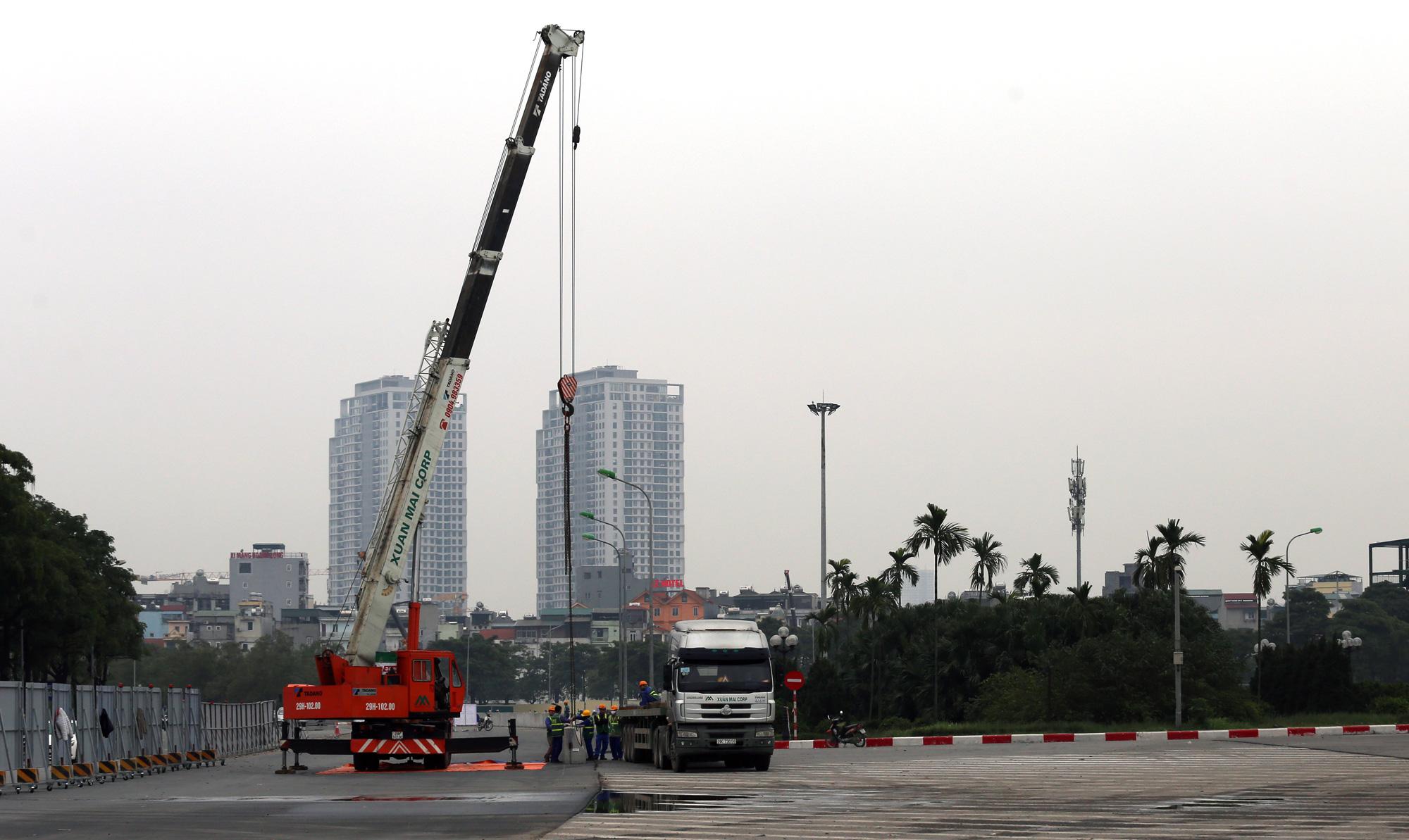 Nhìn gần đường đua F1 Hà Nội sắp khởi tranh - Ảnh 13.