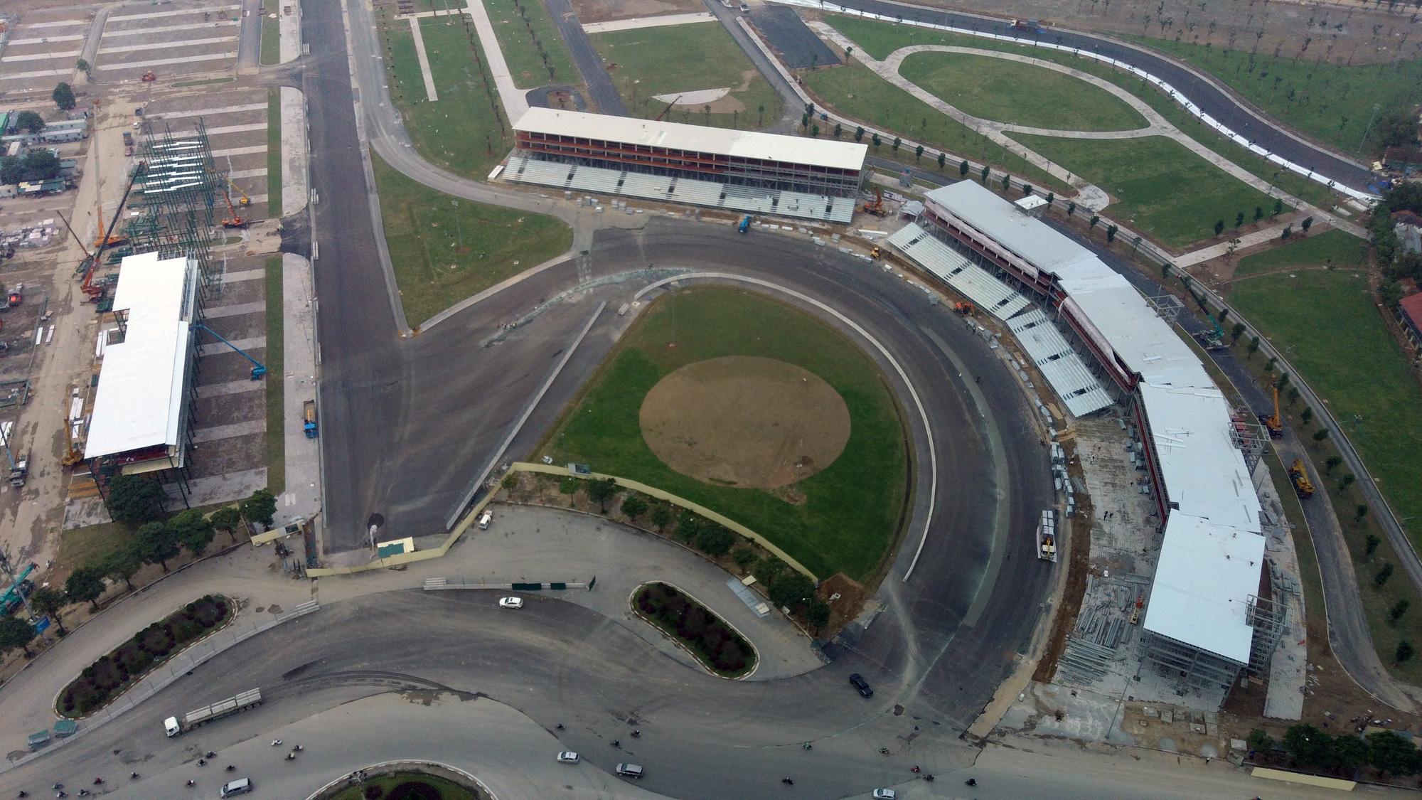 Nhìn gần đường đua F1 Hà Nội sắp khởi tranh - Ảnh 3.