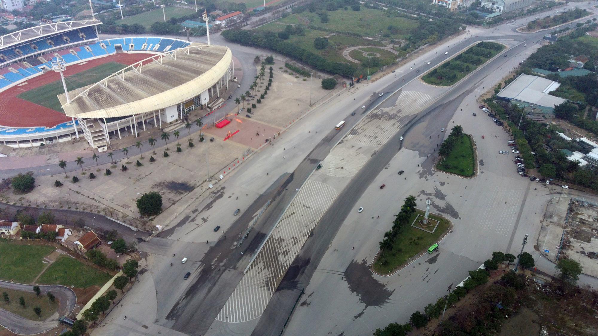 Nhìn gần đường đua F1 Hà Nội sắp khởi tranh - Ảnh 6.