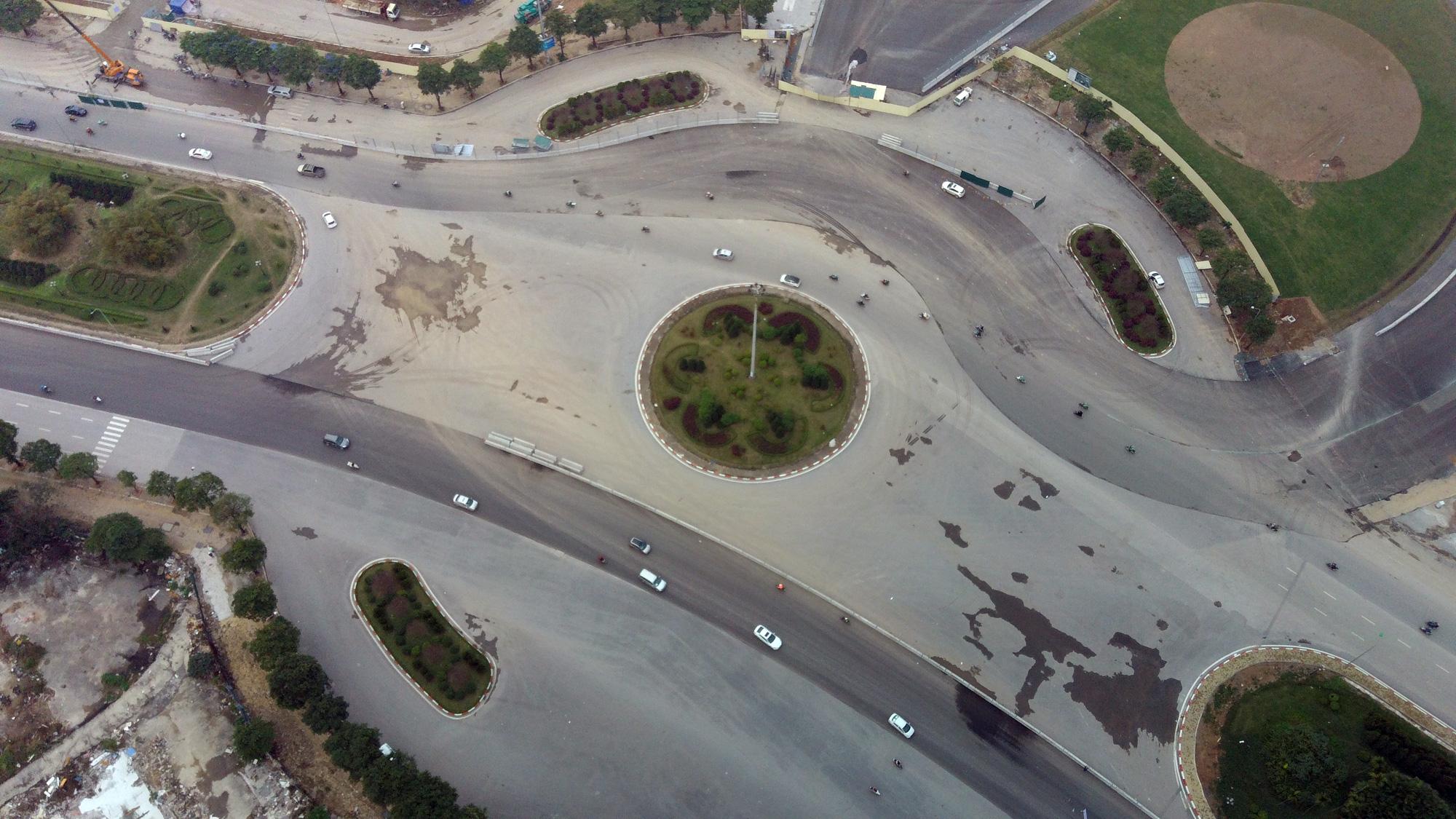 Nhìn gần đường đua F1 Hà Nội sắp khởi tranh - Ảnh 7.
