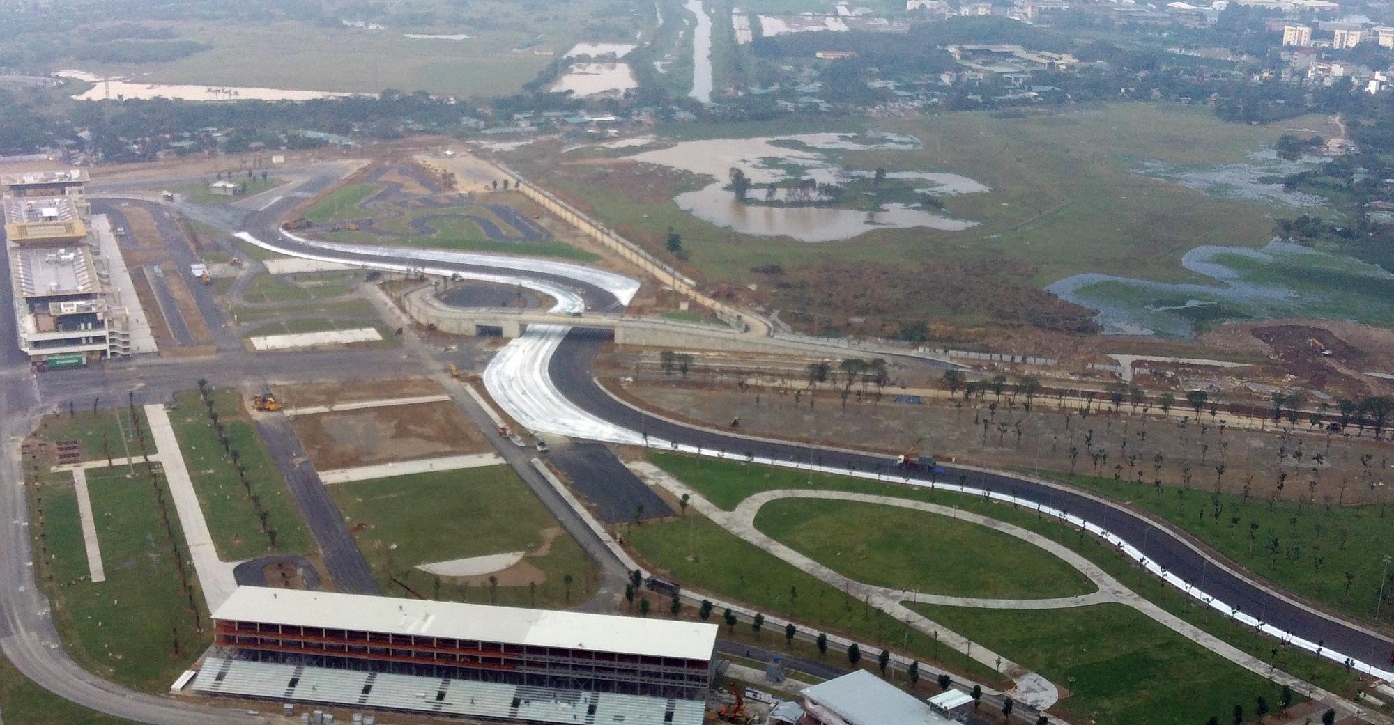 Nhìn gần đường đua F1 Hà Nội sắp khởi tranh - Ảnh 9.