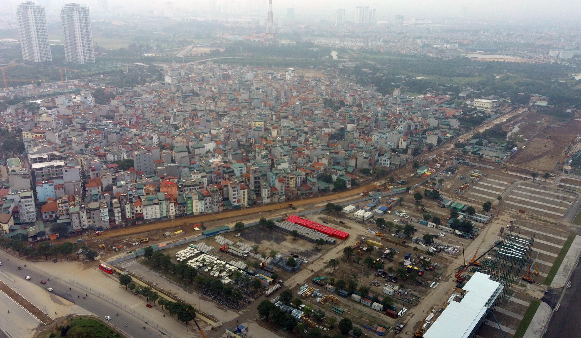 Nhìn gần đường đua F1 Hà Nội sắp khởi tranh - Ảnh 10.