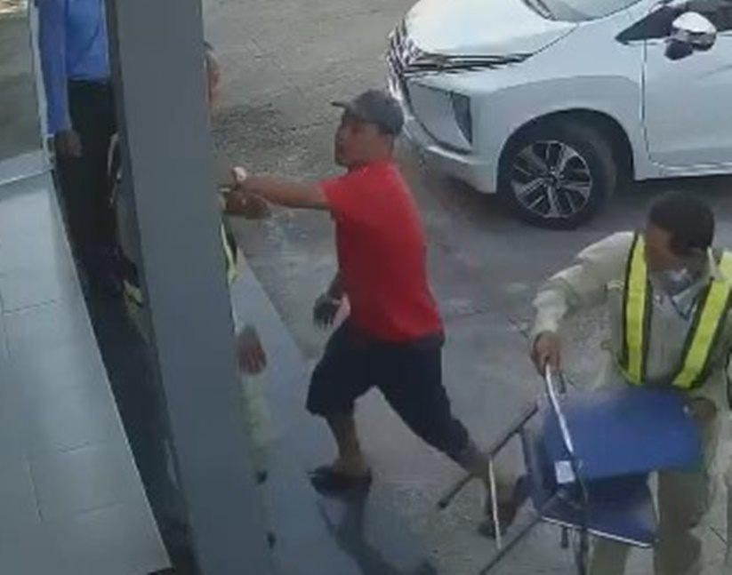 Cán bộ Cục Quản lý đường bộ III bị tấn công tại BOT Ninh Xuân - Ảnh 1.
