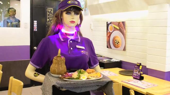 Lên ôtô vắng bóng tài xế, vào nhà hàng không người phục vụ - Ảnh 2.