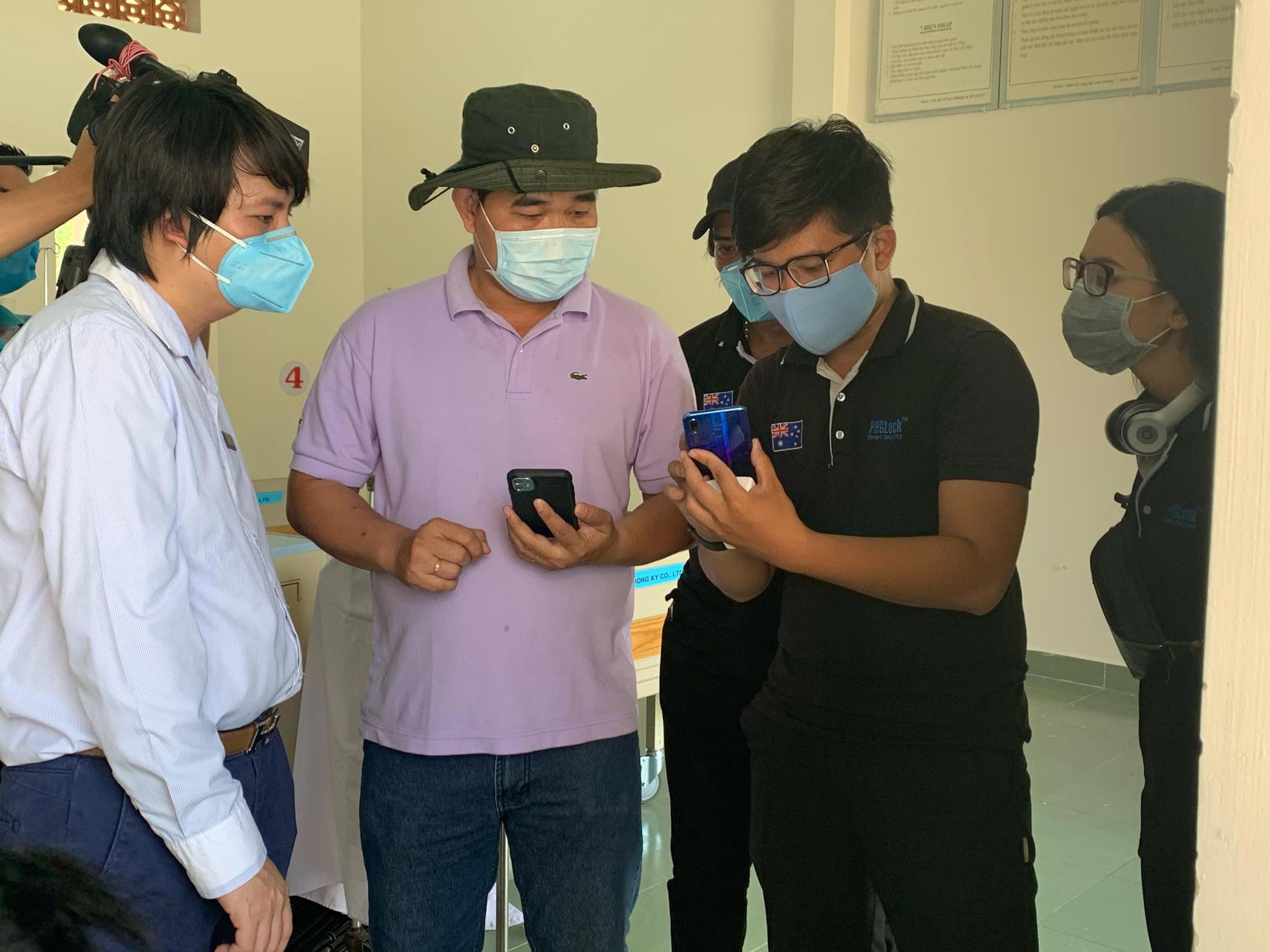 Trang bị chuông thông minh cho bệnh viện dã chiến để hỗ trợ hiệu quả công tác cách li - Ảnh 2.