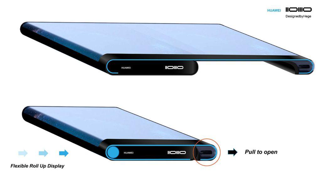 Lộ concept Huawei Mate X 2030 với thiết kế hiện đại - Ảnh 1.