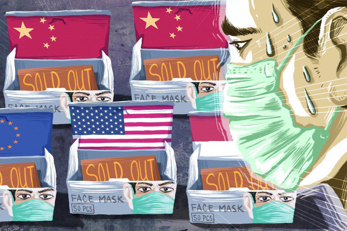 Trung Quốc tăng cường nhập khẩu trước sự cơn bão thiếu hụt khẩu trang y tế - Ảnh 1.