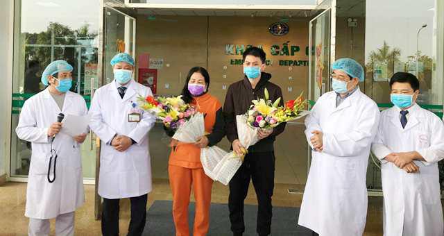Thêm 2 người nhiễm Covid-19 được chữa khỏi và xuất viện - Ảnh 1.