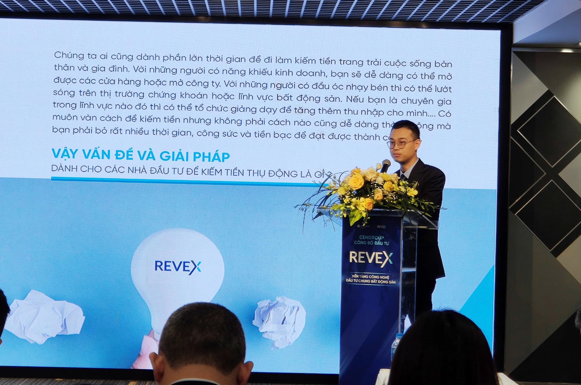 CenGroup rót 1 triệu USD vào nền tảng Revex, tham vọng vượt thị trường chứng khoán trong tương lai - Ảnh 3.