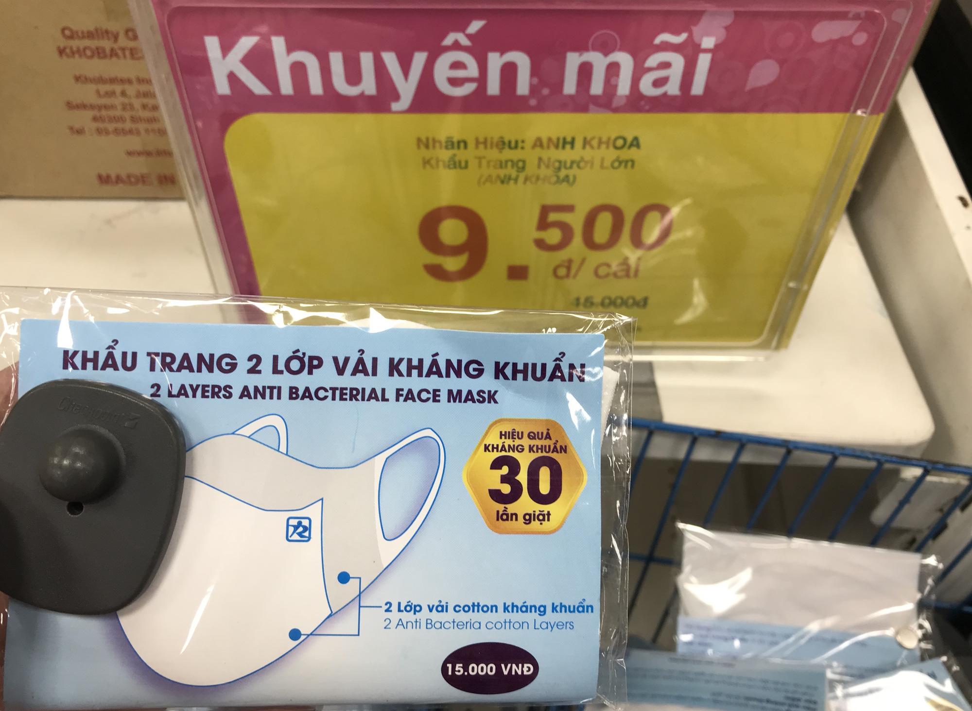 Cận cảnh khẩu trang kháng khuẩn giặt 30 lần, giá chỉ 9.500 đồng tại Co.opmart, có khách mua 50 chiếc - Ảnh 14.
